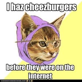I haz cheezburgers