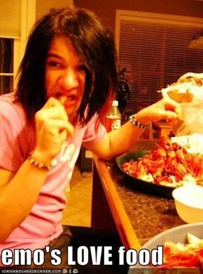 emo's LOVE food