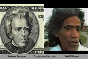 Andrew Jackson Totally Looks Like Ted Williams