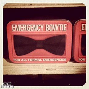 Emergency Bowtie WIN