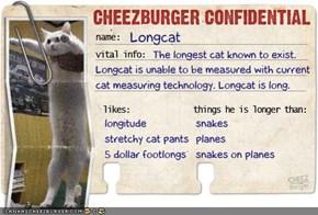Cheezburger Confidential Presents: Longcat