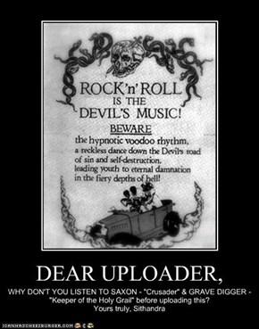 DEAR UPLOADER,