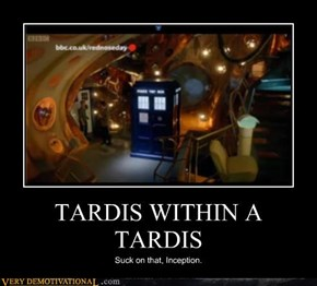 TARDIS WITHIN A TARDIS