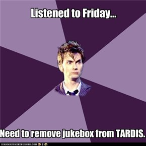 Dr. Who: Listened to Friday...