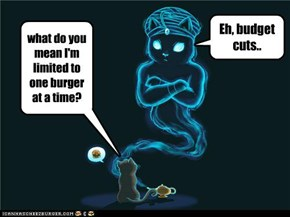One burber?!