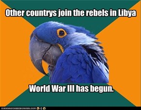 Other countrys join the rebels in Libya