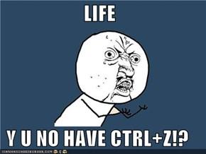 LIFE Y U NO HAVE CTRL+Z!?