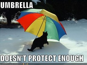 UMBRELLA  DOESN'T PROTECT ENOUGH