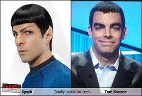 Spock Totally Looks Like Tom Kunzen