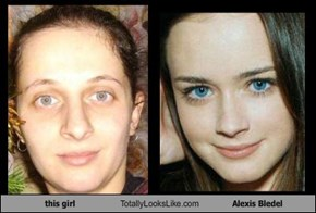 this girl Totally Looks Like Alexis Bledel