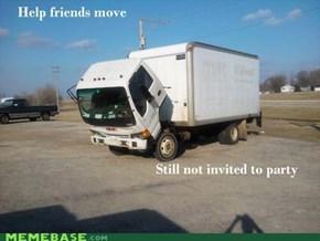 Sad Truck is Sad