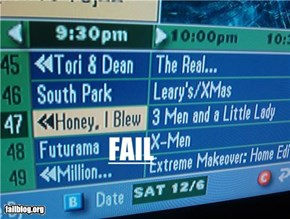 TV guide fail