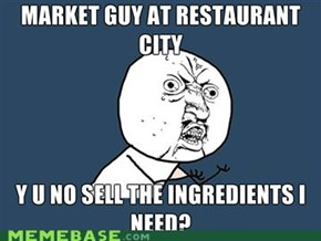 Y U NO market guy