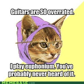 Typical instruments? Too mainstream.