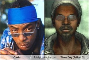 Coolio Totally Looks Like Three Dog [Fallout 3]