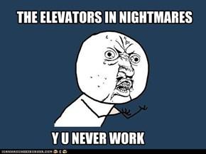 Third floor, not between floors!
