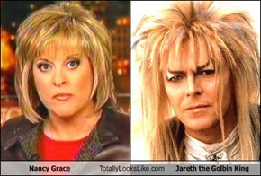 Nancy Grace Totally Looks Like Jareth the Golbin King