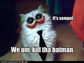 It's sempel...