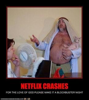 NETFLIX CRASHES