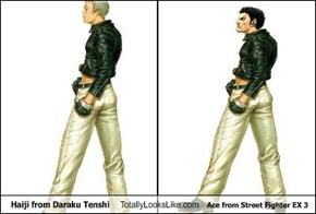 Haiji from Daraku Tenshi Totally Looks Like Ace from Street Fighter EX 3