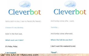 Even Cleverbot hates Rebecca Black