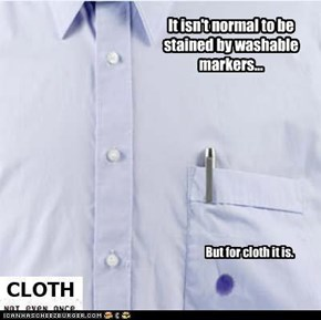Cloth: Not Even Once