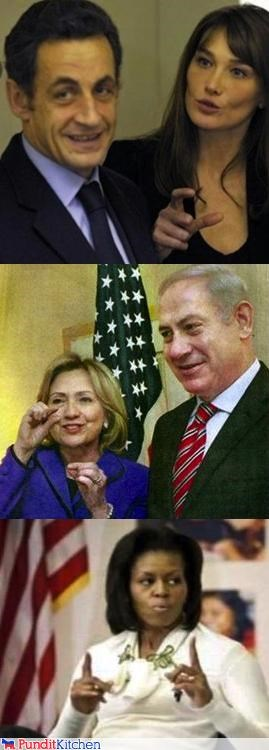 The Difference Between Sarkozy, Netanyahu and Obama