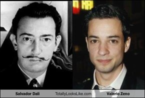 Salvador Dalíi Totally Looks Like Valerio Zeno