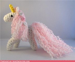 Amigurumi Magical Unicorn
