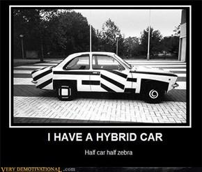 I HAVE A HYBRID CAR