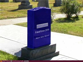 Actually a Pretty Great Tombstone...