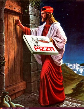 He Delivers Hope and Pizza