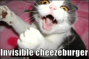Invisible cheezeburger