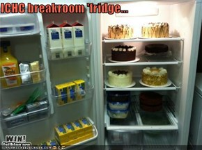 ICHC breakroom 'fridge...