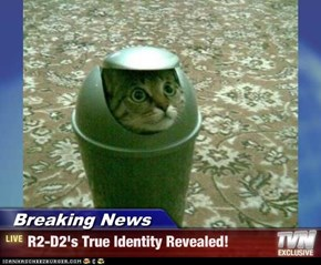 Breaking News - R2-D2's True Identity Revealed!