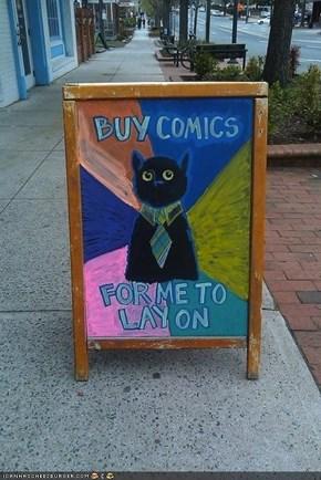 MemeCats: Business Cat (Kinda-Sorta) IRL