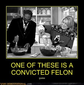 ONE OF THESE IS A CONVICTED FELON