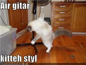 Air gitar  kitteh styl