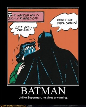 Batman Negotiates.