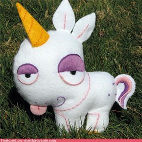 Felt Unicorn Don't Care!