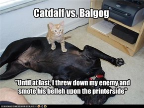 Catdalf vs. Balgog