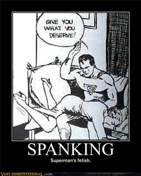 He's got a hankerin' for some spankerin'