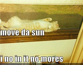 move da sun i no in it no mores