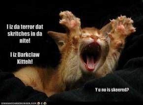 I iz da terror in da nite!