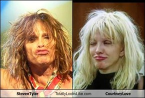 Steven Tyler Totally Looks Like Courtney Love