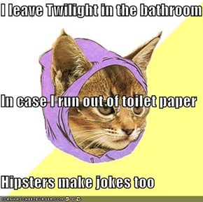Hipster Kitty: Trying To Fit In?