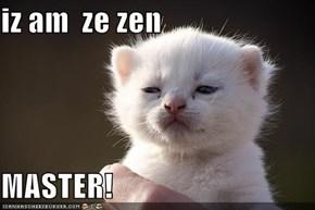 iz am  ze zen  MASTER!