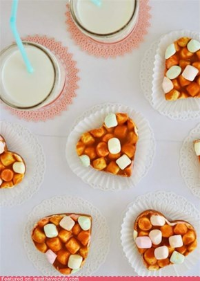Epicute: Butterscotch Peanut Butter Marshmallow Hearts