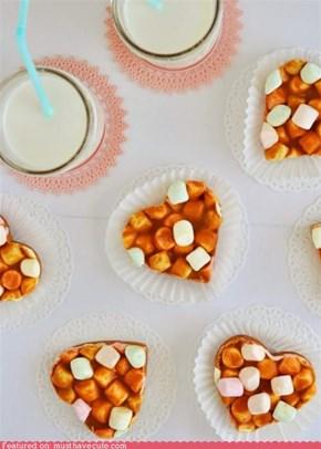 Epicute: Butterscotch Peanut Butter Marshmallow Hearts