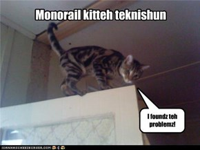 Monorail kitteh teknishun